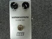 BBE SOUND Effect Equipment WINDOWPANE SILICONE FUZZ